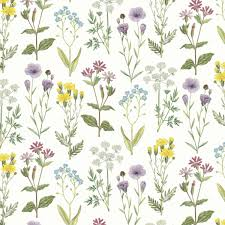 botanical wrapping paper wildflowers wrapping paper