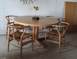 danish modern dining room furniture astounding brown round wood danish modern dining table with 4