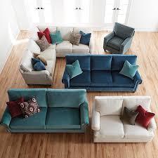 custom upholstered studio sofa bassett home furnishings