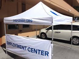 Custom Printed Canopy Tents by Outdoor Tents Signs Today Honolulu Hawaii We Can Print On