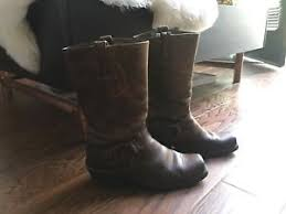 s frye boots size 9 frye boots harness 12r size 9 ebay