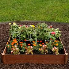 Patio Planter Box Plans by Outdoor U0026 Patio Greenland Gardener Raised Bed Garden Kit Raised