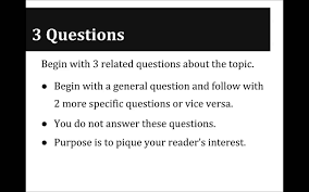 Examples Of Introductory Paragraphs For Essays Tutorial Hook Strategies To Begin Your Introduction Paragraph