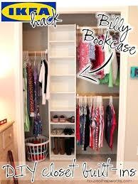 ikea storage hacks ikea closet hacks billy closet hack ikea hack closet doors