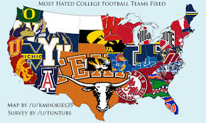 Football Conference Table 25 Maps That Explain College Football Sbnation Com