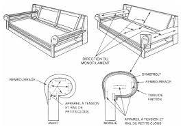 rembourrage canapé de canape