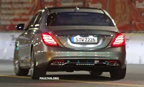 mercedes s class w222 w222 mercedes s class exterior undisguised
