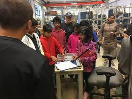 bureau of meter lego league students visit the water bureau meter shop flickr