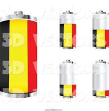Belgian Flag Royalty Free National Flag Stock Vector Designs