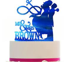 anchor wedding cake topper custom glitter cardstock wedding cake topper silhouette