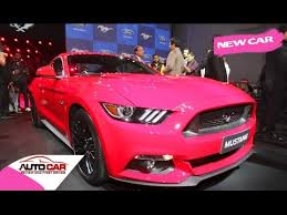a pink mustang details ford mustang india launch in q2 2016 review