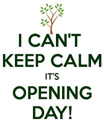 i can t keep calm it s opening day poster evan keep calm o matic