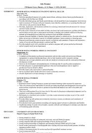 social work resume exles senior social worker resume sles velvet