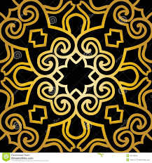 abstract seamless pattern in art deco style royalty free stock