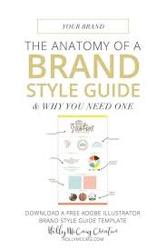 having a style guide is necessary for consistent visuals and for