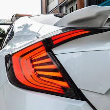 custom supra tail lights sedan aftermarket led tail lights 2016 honda civic forum 10th