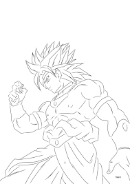 ssj broly by darkhawk5 on deviantart