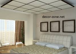 Drop Ceiling Styles by False Ceiling Designs For Bedroom 20 Ideas Home Design