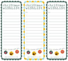 christmas wish list my owl barn printable christmas wishlist gift tags