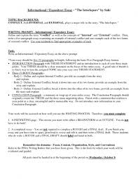 Show An Example Of A Resume by Example Of Exposition Essay An Example Of A Written Expository How
