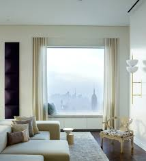 penthouse filled with modern floor lamps in manhattan