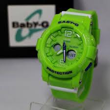 Jam Tangan Baby G Warna Merah jam tangan baby g bga 180 hijau kw gudang jam tangan
