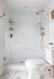 Small Bathroom Designs With Walk In Shower Best 25 Shower Shelves Ideas On Pinterest Tiled Bathrooms