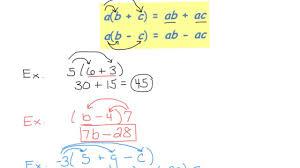 distributive property worksheet 7th grade algebraic equations word