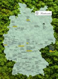 geographical map of germany german brands