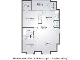 2 bedroom 1 bath floor plans 2 bedroom apartment floor plans pricing chapins landing