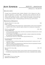 Resume Example Qualifications   Resume Maker  Create professional     happytom co