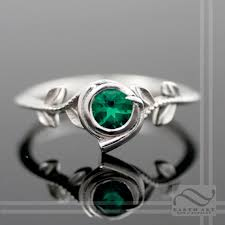 geeky engagement rings kokiri emerald ring legend of geeky engagement ring