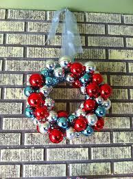 diy ornament wreath ole miss wire hangers