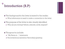 Business Letter Format For Request Business Letter Format Ppt Video Online Download
