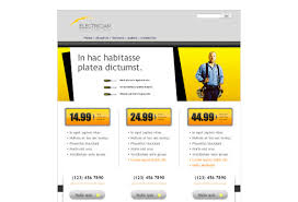 electrician web template pack from serif com