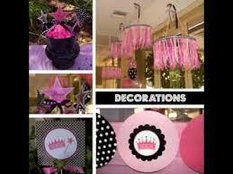 diy princess party decorating ideas youtube