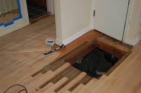 replacing hardwood floors repair sand and refinish