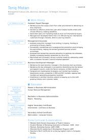 Sample Resume For Business Development Manager by Export Manager Resume Samples Visualcv Resume Samples Database