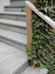 Wire Banister Hardscaping 101 Entry Stairways