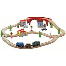 thomas the tank activity table wooden activity table with 45 piece train set storage bin only at