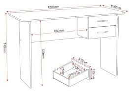 Desk Drawer Dimensions Unique Desk Dimensions Sauder For Design Inspiration