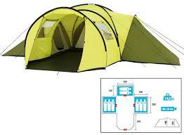 tente 3 chambres 04 tente trigano zephyr 8 places polyester tente dôme et