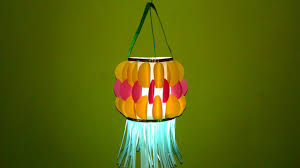 Diwali Decorations At Home by How To Make Diwali Lantern At Home Christmas Diwali Decoration