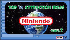 top 20 ideas for nintendo theme park attractions part 2 youtube