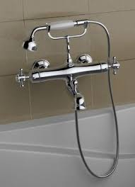 Faucet Shower Converter Add A Shower Converter Kit For Clawfoot Tub With Diverter Faucet
