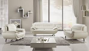 lovely white leather sofa set with white leather furniture set