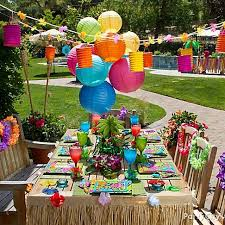luau theme party 22 best lua images on tropical party luau party and