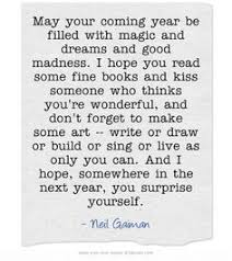 may your coming year be filled with magic and dreams and