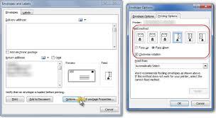 printing envelopes and labels part 1 envelopes legal office guru