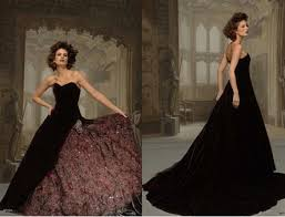 brown wedding dresses and black wedding dresses weddbook